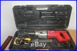 Milwaukee DD 2-160 XE heavy duty diamond core drill 240v