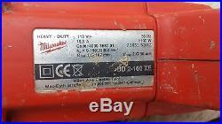 Milwaukee Dry Diamond Core Drill Ddxe Chuck Diamond 110volt 1100 Watt Drilling
