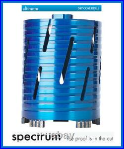 Ox Spectrum Diamond Core Bit BX10 Superfast Dry Core Drilling 22mm 202mm