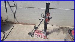 Red Hilti Diamond Drill Rig Stand For Diamond Core Drill Drilling Wet Drill