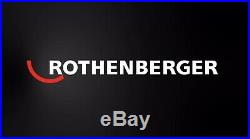 Rothenberger 12 Piece Dry Diamond Tile Core Drill Set 89020 Extensions & Chuck