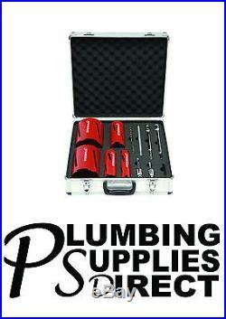 Rothenberger Dry Diamond Core Kit R89020 12 Piece Drilling Set