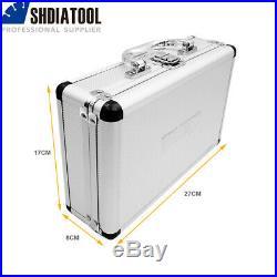 SHDIATOOL 1set/13pcs Diamond Drilling Core Bits With Box M14 Thread Hole Saw