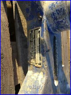 Shibuya Evolution R2231 400mm Heavy Duty Diamond Core Drill Rig 110v & Stand