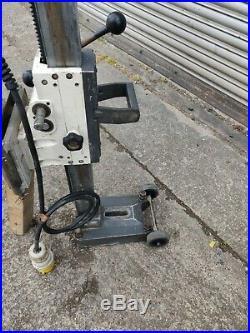 Shibuya R2231 Diamond Core Drilling Machine 110v and drill rig stand TS-402