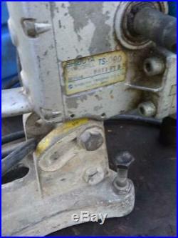Shibuya TS 090 Diamond Core Drill Drilling Rig 110v & Stand