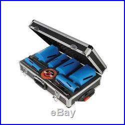 Silverline Diamond Core Drill Kit 6pce 38 127mm DIY Power Tool Accessories