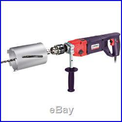 Sparky Diamond Core Drill Bbk 1100e Kit Includes 3 Cores 110 Or 240v