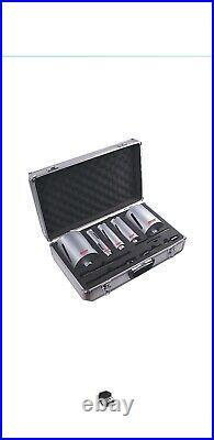 Starrett BMKIT1 Diamond Core Drill Kit holesaw tct set in case plumber sds