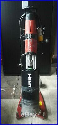 Two (2) Hilti DD 200 Diamond Core Drill with rig, vacuum base and core bits