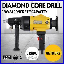 Vevor RT-110A Diamond Core Drill Rotary Percussion 240V 160mm & Carry Case