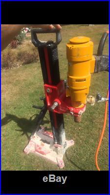 WEKA diamond core drilling rig, concrete drill hole cutter boring machine