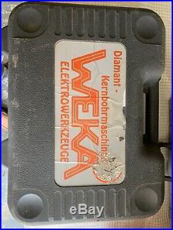 Weka DK13 Diamond Core Drill 3 Speed 110V 1 1/4 UNC