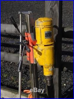 Weka DK 26 Diamond Core Drill Drilling Rig 110v & Stand Year 2015