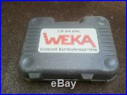 Weka hydrostress DK17 Core drill 110v, Diamond drill hand held